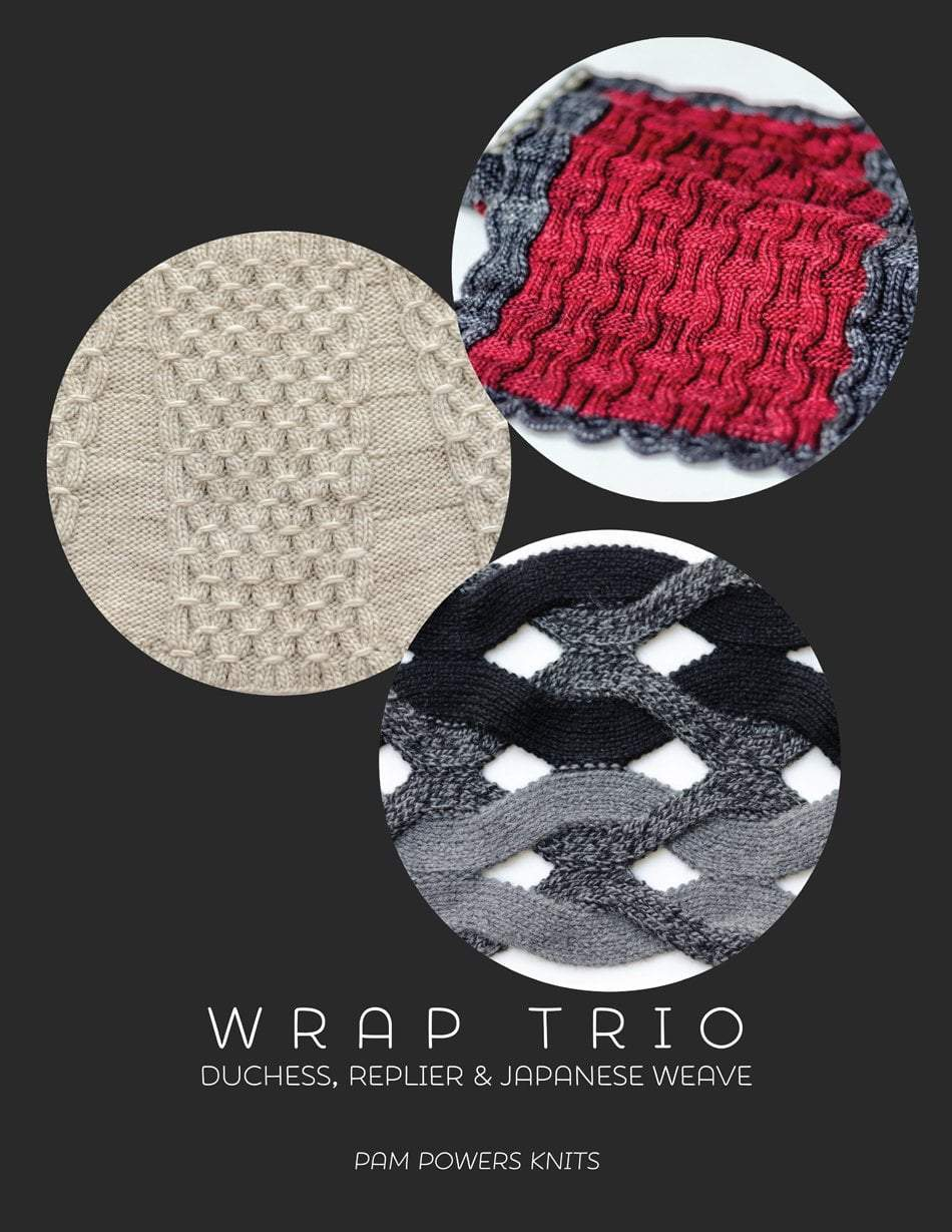 Wrap Trio by Pam Powers Knits Tin Can Knits Book