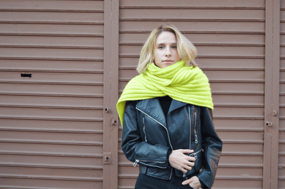Yellow Brick Road Scarf Pattern by Clinton Hill Cashmere Clinton Hill Cashmere Pattern