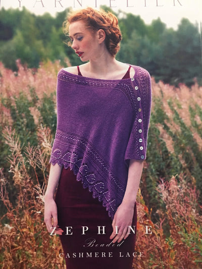 Zephine Beaded Shawl Pattern Yarntelier Pattern