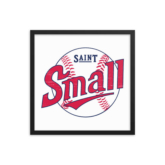 Saint Small Framed Print