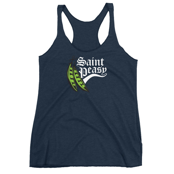 Saint Peasy Women's Racerback
