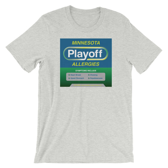 Minnesota Playoff Allergies Wolves Short-Sleeve T-Shirt