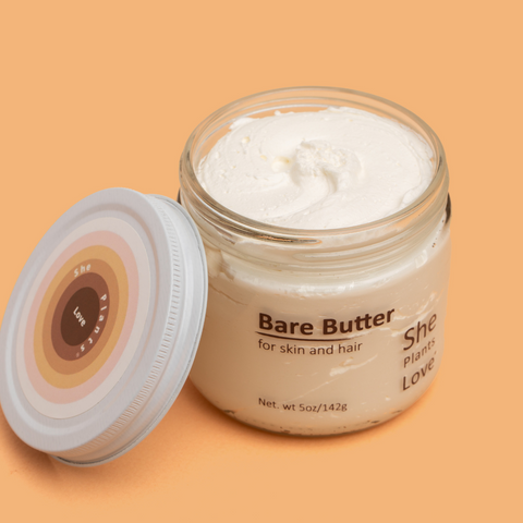 Bare Butter Open Jar