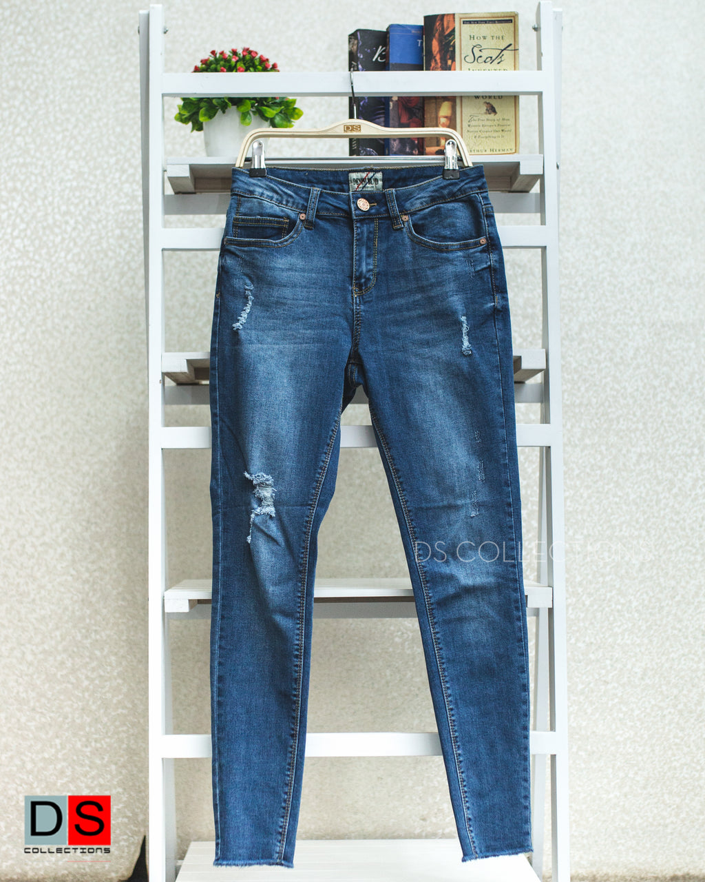 Women's Pant - Ripped Denim Jeans  | DS Collections Nepal