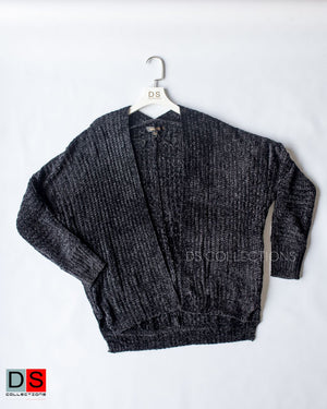Soft Knitted Velvet Cardigan