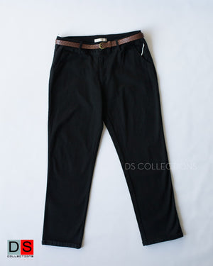 Stretchable Soft Pant With Belt