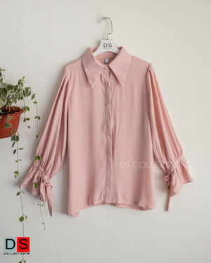 Formal Shirt With Ruffle Full Sleeve