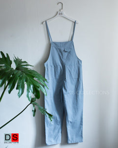 Loose Dungaree With Pocket At Front