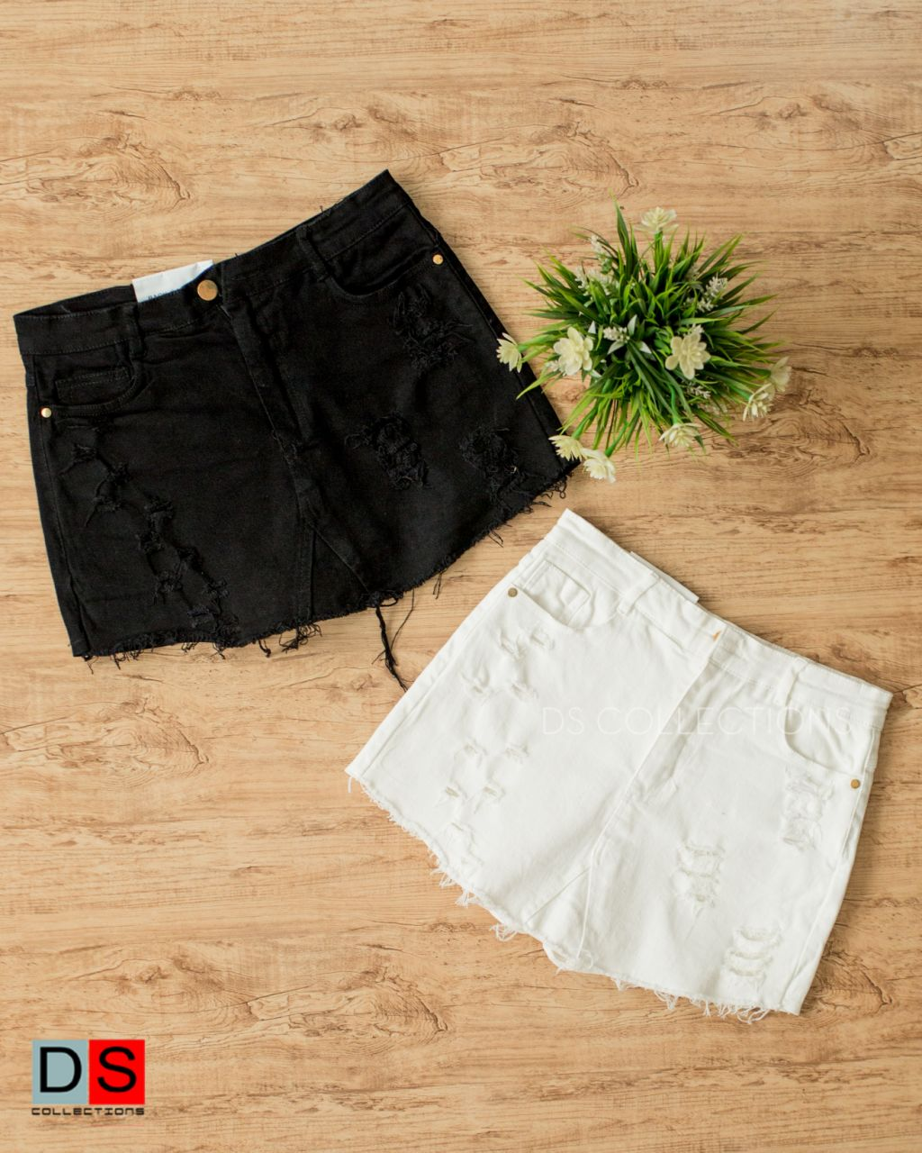 Plain Skort With Grunch