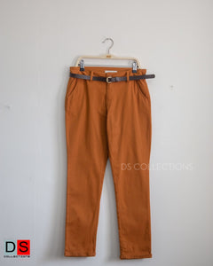 Slim Fit Formal Cotton Pant