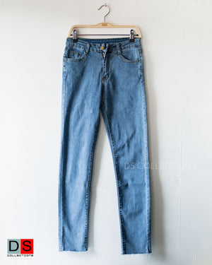 Soft Denim Skinny Pants
