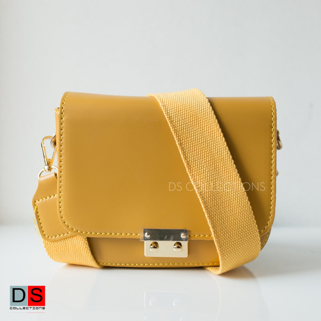 Side Sling Bag With Buckle
