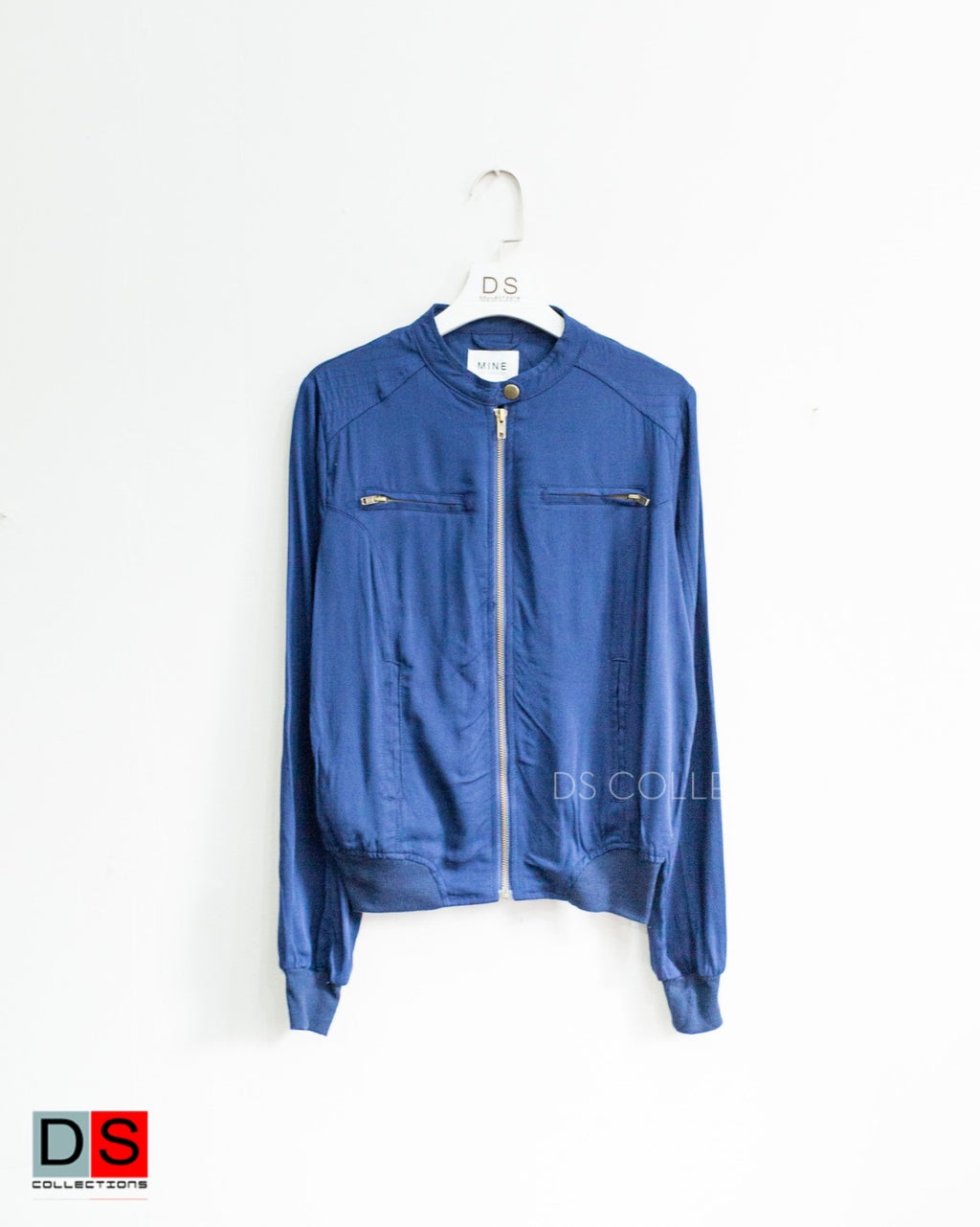 Zip Up Light Weight Summer Jacket