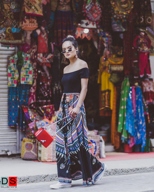 Women's Skirt - Boho Maxi Skirt | DS Collections Nepal