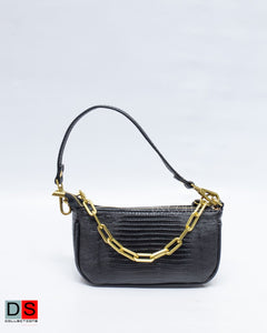 Animal Skin Small Handbag