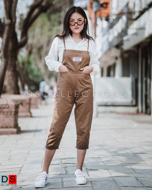 Women's Dungaree - Cotton Dungaree | DS Collections Nepal