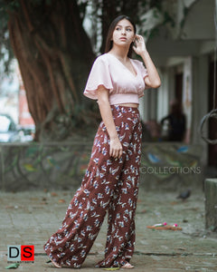 Women's Pant - Printed Pant | DS Collections Nepal