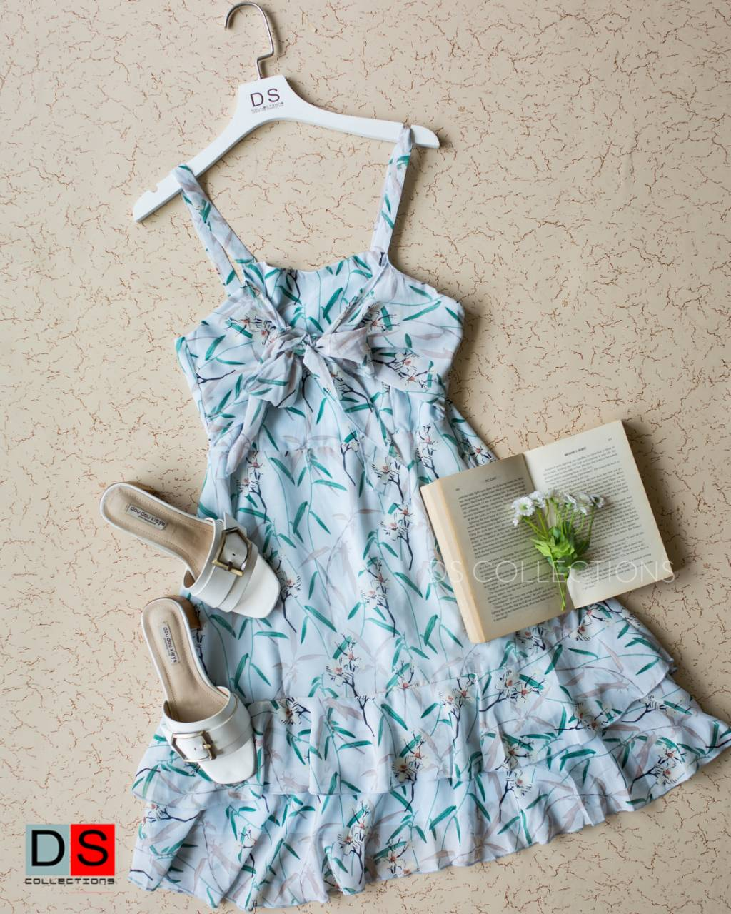 Spaghetti Strap Flowy Dress