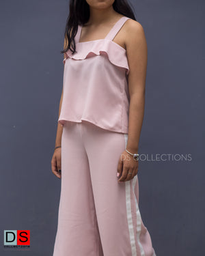 Women's Set - Flare Pant and Spaghetti Strap Top Set | DS Collections Nepal