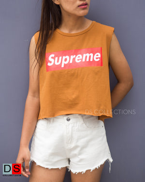 Supreme Sleeveless Top