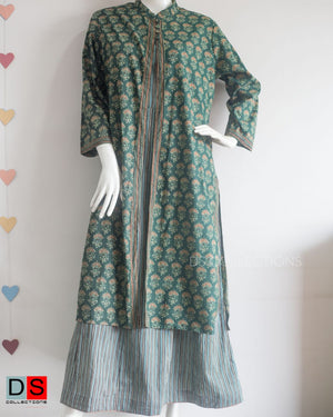 Women's Dress - Dabu Printed Suit| DS Collections Nepal
