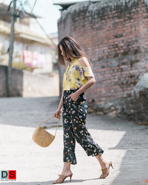 DS Collection Women Printed Trouser Nepal