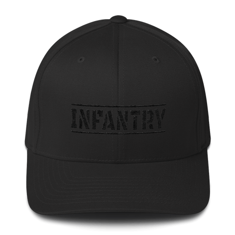 Flexfit Blacked Out Infantry