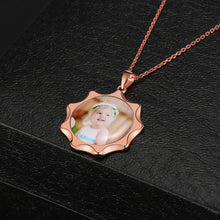 Full Color Sunshine Photo Necklace