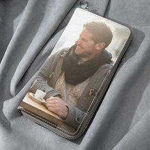 Long Style Full Color Photo Zip Wallet