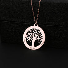 Circle Family Tree Necklace
