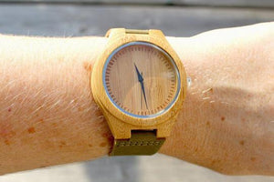 Bamboo wood Watch / Personalized Watch