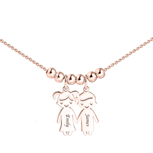 Necklace with 1 Children Charms