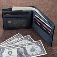 Full Color Photo Bifold Wallet - Blue