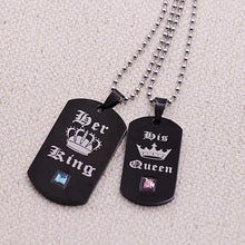 Custom Couple Picture Necklace