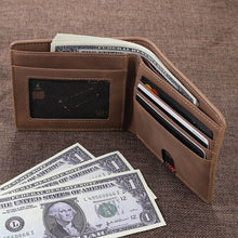 Full Color Photo Bifold Wallet - Brown