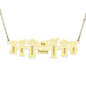 My Family Members Necklace
