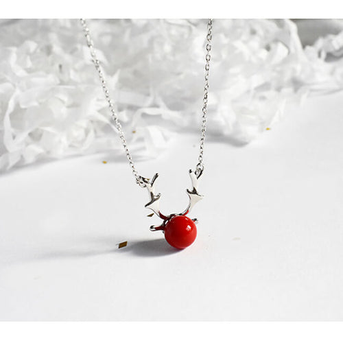 Reindeer Design Necklace