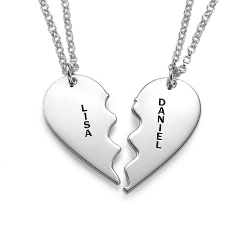 Breakable Heart Necklaces