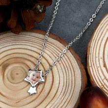 Stars Photo Necklace