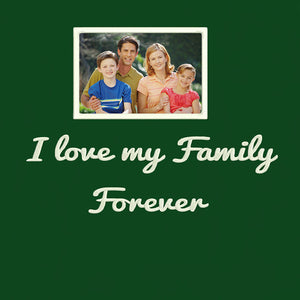 Personalized Photo Embroidery Hoodie - Green