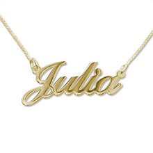 Small Classic Name Necklace
