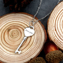 Key To Love Engravable Necklace