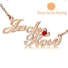 Two-Row Name Necklace