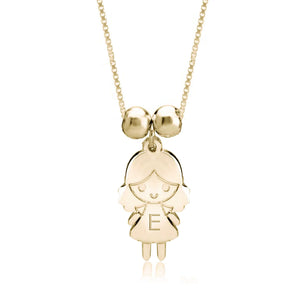 1 Child Cartoon Charm Necklace