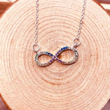 Infinity Full Crystal Necklace