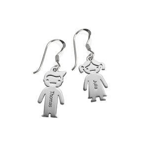Kid Charm Earrings