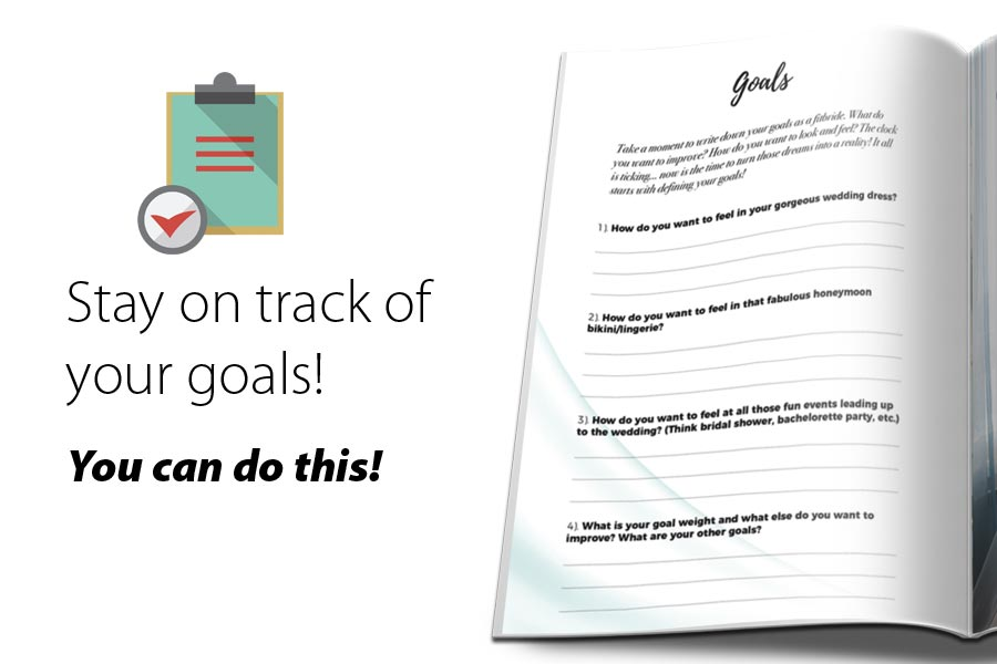 Stay on track of your goals