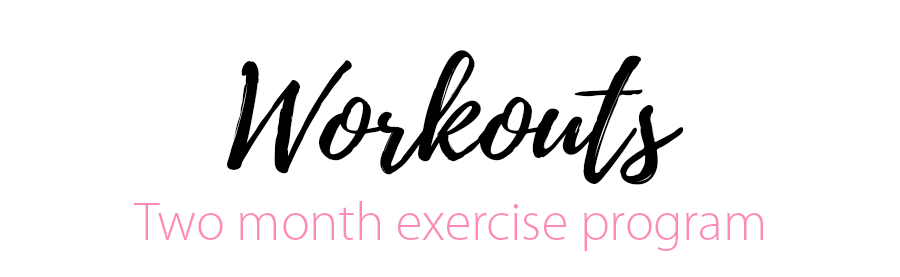 fitbride Workouts heading