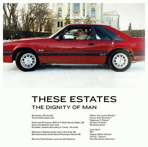"These Estates : ""The Dignity of Man"" Lp"