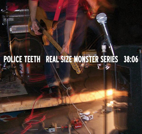 "Police Teeth : ""Real Size Monster Series"" Cd"
